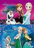 Derform Schreibtischunterlage Frozen die Eiskönigin 34,5 x 49,5 cm mit ELSA, Anna und Schneemann Olaf