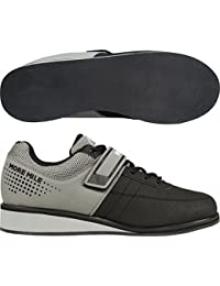 More Mile Mens Womens More Lift 4 Weight Lifting / Cross Fit Shoes - Grey