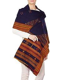 Accessoire de laine des femmes Handmade mariage Châles brodés Wraps 84x36 pouces