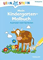 Mein Kindergarten-Malbuch. Ausmalen nach Symbolen ab 4 Jahren (LERNSTERN)
