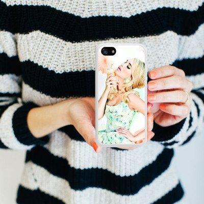 Apple iPhone 5s Housse Étui Protection Coque Lena Hoschek Spring Summer Tendance 2016 Glace Housse en silicone blanc