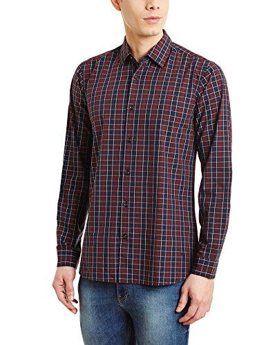 Blackberrys Men's Casual Shirt (8907196303460_BT-F2X-SNP-CHFY47_44_Navy)