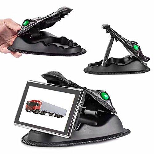 7in Tablet-gel-fall (XINMY GPS Halter GPS Halterungen Crocodile NonSlip Armaturenbrett GPS Reibung Mount für Garmin Nuvi, TomTom und andere 3,5-8 Zoll GPS Geräte und Smartphones Tablet PC)