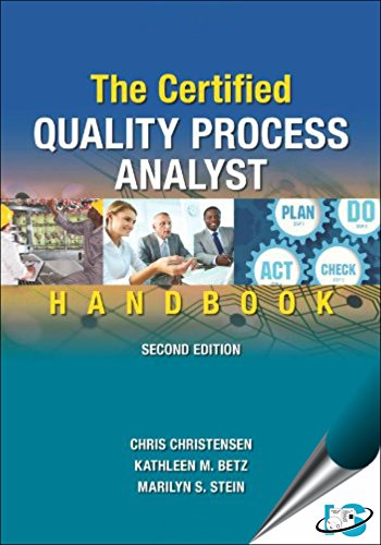 Preisvergleich Produktbild The Certified Quality Process Analyst Handbook,  2nd Edition [Hardcover] [Jan 01,  2015] Chris Christensen,  Kathleen M. Betz,  Marilyn S. Stein