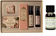 Kama Ayurveda Rose Essential Box 330g, Bringadi Intensive Hair Treatment 8ml Combo