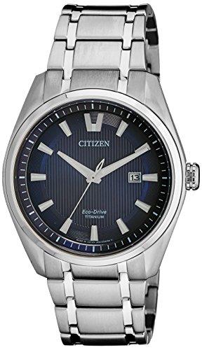 Citizen Analog Blue Dial Men's Watch - AW1241-54L image