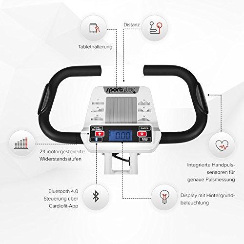 SportPlus Ergo X-Bike mit App-Steuerung - 4