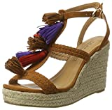 Buffalo Shoes Damen 315791 IMI Suede BHWMD A75 Knöchelriemchen, Braun (TAN 01), 38 EU