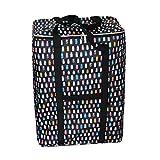 FakeFace Super Große Starke Aufbewahrungsbox für Reise Umziehung Aufbewahrung Kleiderschrank Wasserdicht Super Reißfest Robust 130 Liter 52 x 35 x 71 CM