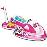 Schwimmspielzeug - Intex Wasserfahrzeug - Disney Kinder Wasserfahrzeug - Kinder Wasserjet - Wasserfahrzeug mit Modellauswahl inkl. 1 Wasserball (Wasserjet aufblasbar Hello Kitty inkl. 1 Wasserball)