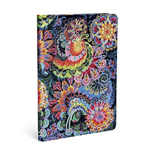 Paperblanks - Olenas Garten Mondlicht - Notizbuch Midi Liniert