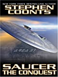Saucer: The Conquest (Wheeler Large Print Book Series)
