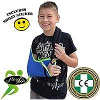Kinder-Armschlinge Xtra Deep Cooling, wendbar, leicht anzubringen, verstellbar, Daumenschlaufe, Smiley-Aufkleber... preisvergleich bei billige-tabletten.eu