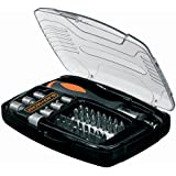 Black and Decker A7062-XJ - Kit con 40 piezas para atornillar y atornillador de carraca