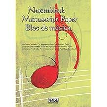 Notenblock: Für eigene Kompositionen und Musikideen