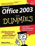 Office 2003 Para Dummies (En Espanol)