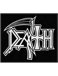Death Men's Woven Patch Black