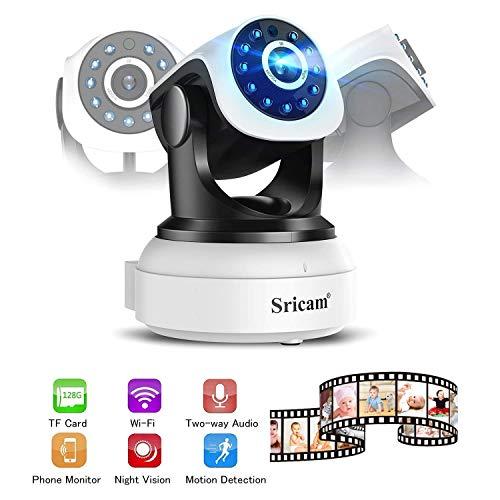 IP cámara WiFi LESHP camaras de Vigilancia inalámbrico HD Zoom P2P IR...