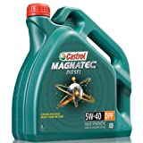 Castrol MAGNATEC Motorenöl 5 W-40 DPF, Fully Synthetic, Diesel Engines, 4 Liter