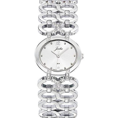 Joalia 633289 - Orologio da polso donna, metallo, colore: argento