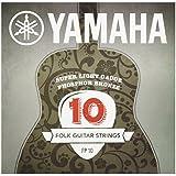Yamaha FP10 - Juego de cuerdas para guitarra acústica