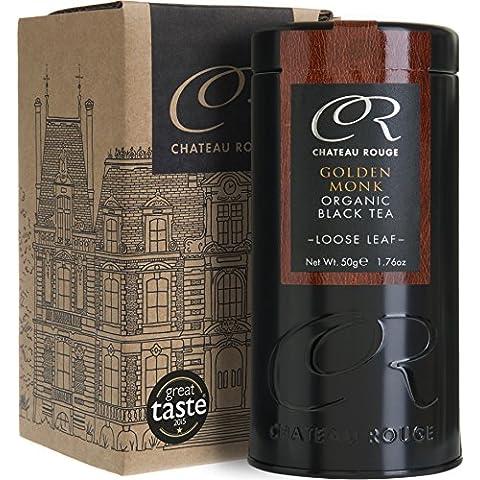 Chateau Rouge - Golden Monk - 50g - Bio Nero tè