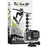 Review XP C600 Action Camera 4K 16MP Ultra HD Sports Waterproof Wi-Fi 170 Wide Angle Lens DV Digital Camcorder 4x Zoom Lens Dual Screen DV Digital Camcorder Bundle Of 20 Mounting Kits & Accessories