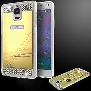 Coque mirror case diamants samsung galaxy note 3 gold - Dreamshop75 -