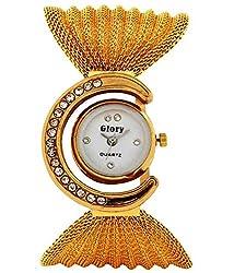Rana womens or girls watch Glory gold metel watch for women or girls