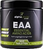 EAA vegan - Amino Komplex - alle 8 essentielle Aminosäuren - 300 Tabletten inkl. BCAA und L-Lysin - ohne Magnesiumstearat