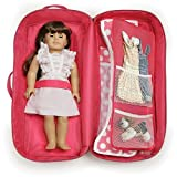 Badger Basket Doll Travel Case with Bed and Beddi