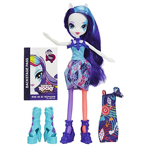 My little Pony Equestria Girls Rainbow Rocks SELTENHEIT Puppe mit Mode (Little Rockstar-outfit Girl)