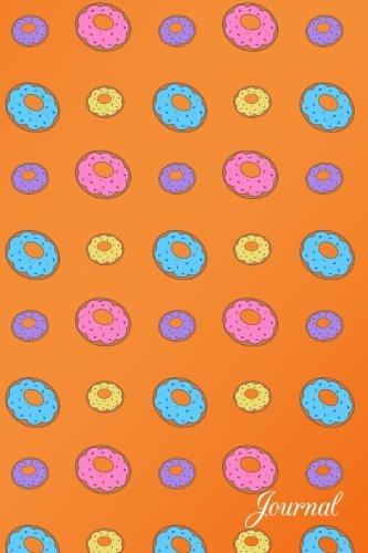 Journal: Orange donuts notebook por Brothergravydesigns