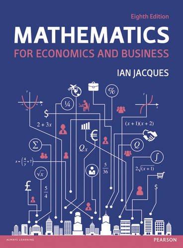 Mathematics for Economics and Business por Ian Jacques