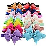 F-eshion Baby New Big Bow Haarspange Headwear Haarnadel Mode Stil Handband (20pcs random)