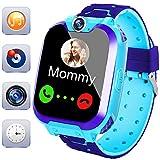 Game Smart Watch per Bambini, AMENON Smart Watch Phone con Slot per Schede SIM 1.54 Touch Screen Videochiamate Game Alarm Clock Lettore Musicale Sport Fitness Tracker per Bambini Ragazzi Ragazze