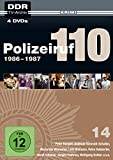 Polizeiruf 110 - Box 14: 1986-1987 (DDR TV-Archiv) Softbox [4 DVDs ]