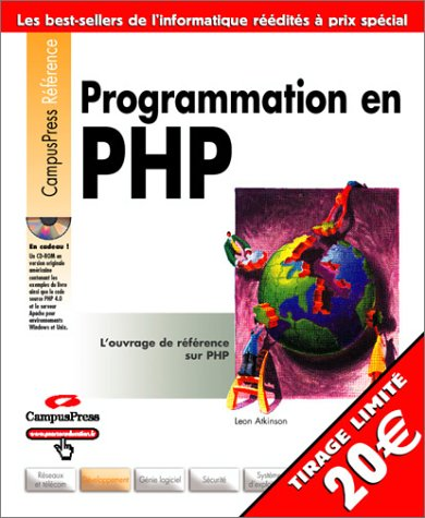 Programmation en PHP - Sélection Campus - CD-ROM