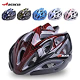 Generic Black and blue : 2016 Sale Capacete Ciclismo Acacia Bicycle Helmet Outdoor Ride Riding Bike Mountain Cycling Bmx Hero Adjustable Adult Mens Women