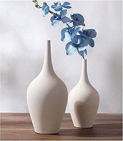 Modern Simple Chinese Traditional Ceramic Vase Creative Decoration Home Crafts Gifts Ornament For Livingroom Bed Boom Cafe Bar , 2 sets