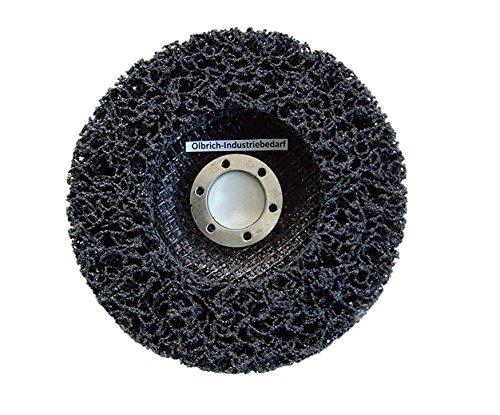 Preisvergleich Produktbild Olbrich-Industriebedarf Reinigungsscheibe 125 mm - 5 Stück SCHWARZ