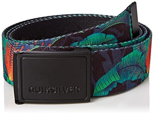 Quiksilver - Cintura - Uomo Multicolore Multicoloured (Jadesheen)