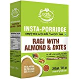 EARLY FOODS Organic Instant Ragi Almond & Date Porridge Mix 200 Grams