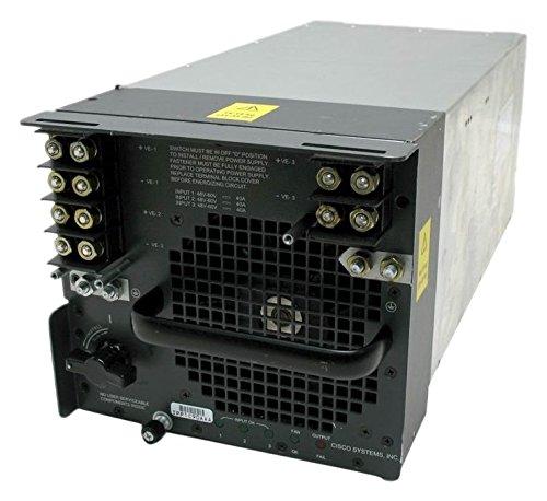 Cisco Systems 4000W DC Power Supply Stromversorgung DC 4000 W für Catalyst 6500/Cisco 7600 (Ersatzteil)
