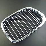 NUEVO enfriador Barbacoa Barbacoa Riñón rejilla cromo negro Derecho 51137005838para BMW 55E39Touring de 1997–2006