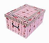 Nicht nur zu Ostern und Weihnachten schön - toller Dekokarton mit provenzalischem Muster in stabiler Ausführung - XXL Format!