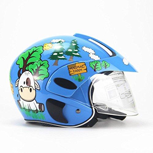 duhe189014,wirkt Gut Dämpfend Und Schützt,auch Für Viele,Kinder Motorradhelm Vier Jahreszeiten Persönlichkeit Kinder Vollgesichtsschutzhelm Für Jungen Mädchen Reiten Skating Motorrad