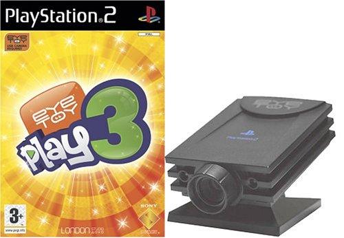Eye toy play 3 + camera