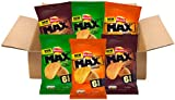 Walkers Max Snacks Box, Assorted Flavors Pack of 36