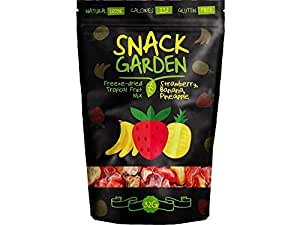 Snack Garden Freeze Dried Tropical Fruit Mix 32g (pack of 10)